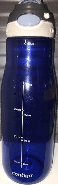 Contigo Chug Bottiglia D'Acqua Blu