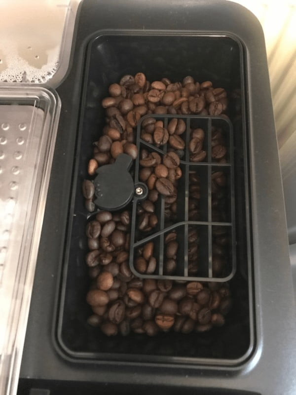 Siemens EQ3 espressomaskine til bønner