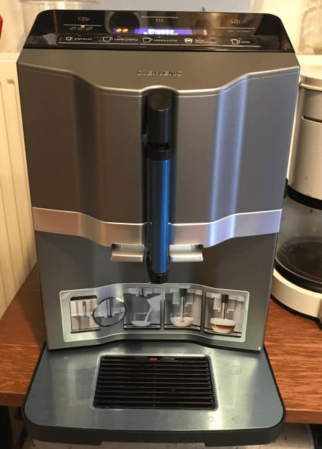Siemens EQ3 s300 Coffee Machine Black Silver