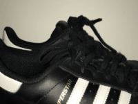 Adidas Superstar Black 3 Stripes