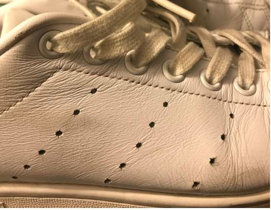 Adidas Stan Smith Rows of Perforations