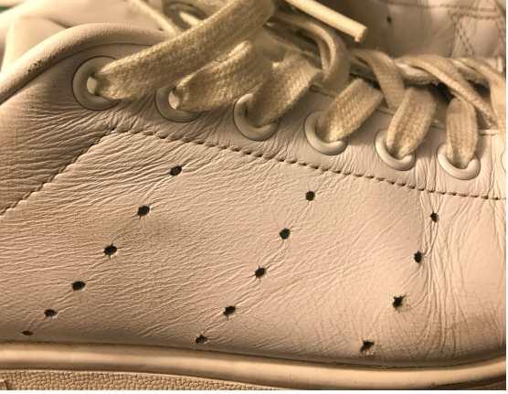 Adidas Stan Smith Perforationsreihen