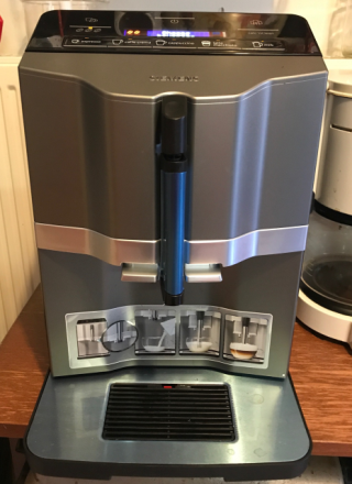 Siemens EQ3 Coffee Machine Silver Black
